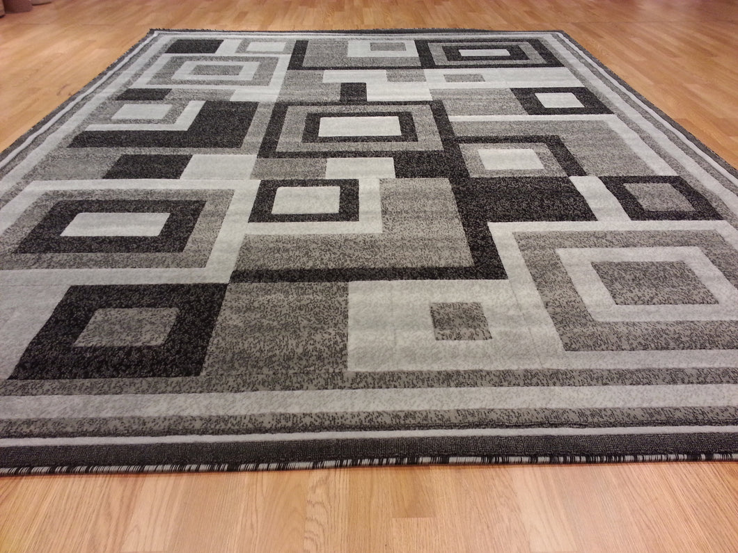 E508 Dark Grey Area Rug