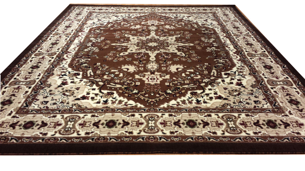 E510 Brown Area Rug