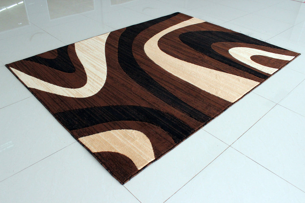 E530 Brown Area Rug
