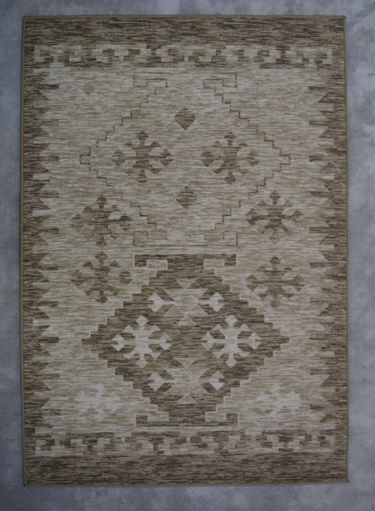 Ibarra  Green/Brown Area Rug