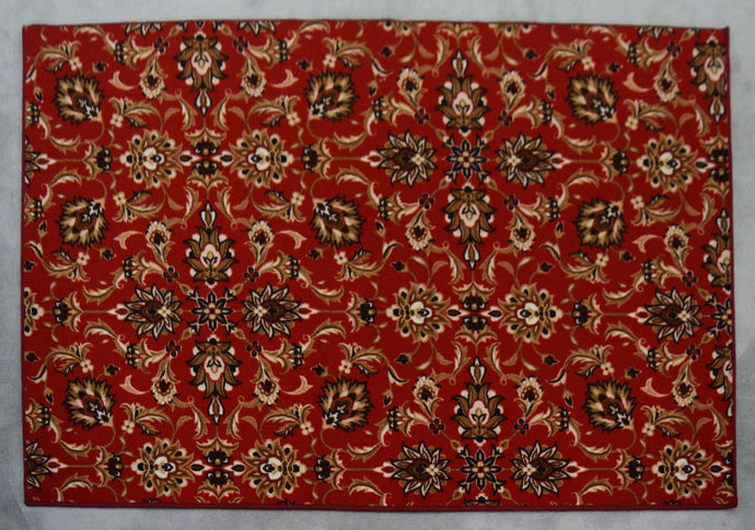 Rochelle  Red Area Rug