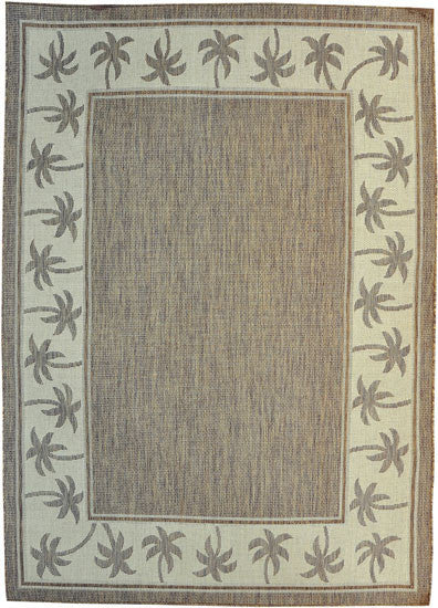 H07 Brown Area Rug