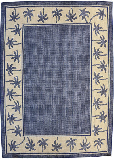 H07 Navy Blue Area Rug