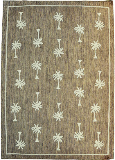 H08 Brown Area Rug