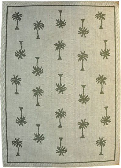 H08 Green Area Rug