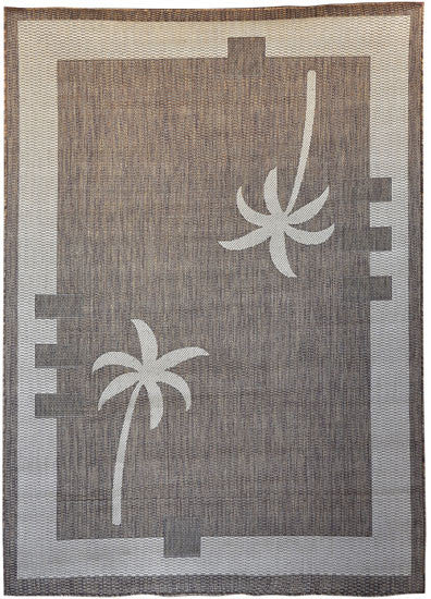H09 Brown Area Rug