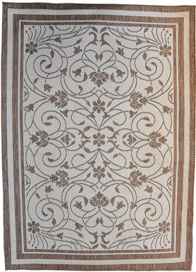 H12 Brown Area Rug