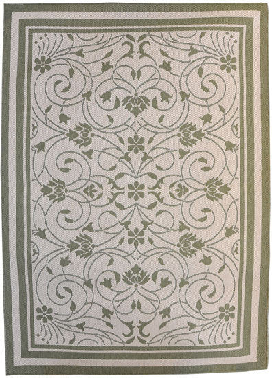 H11 Green Area Rug