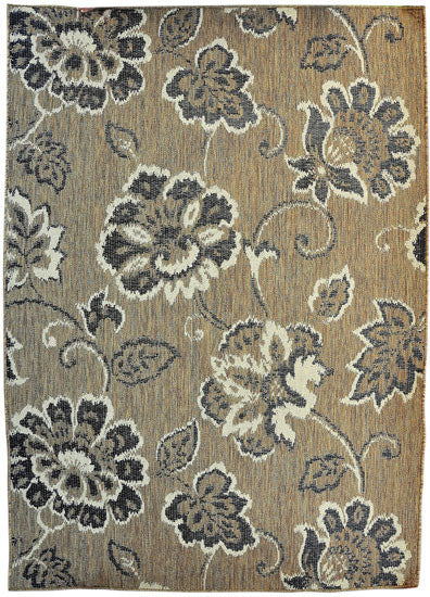 H13 Brown Area Rug