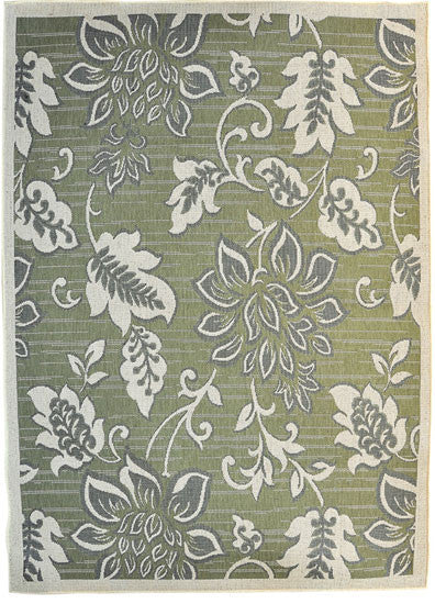 H17 Green Area Rug