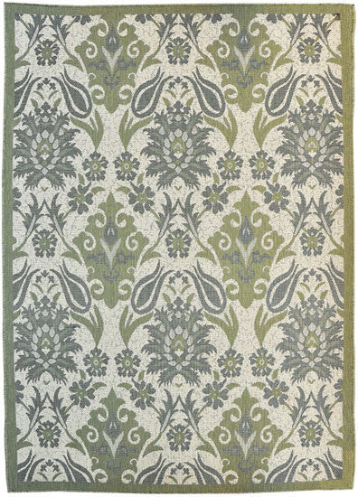 H18 Green Area Rug