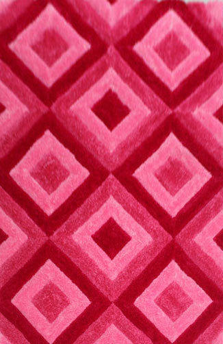 IS7 Pink Area Rug