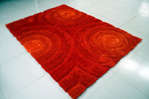 IS4 Orange Area Rug