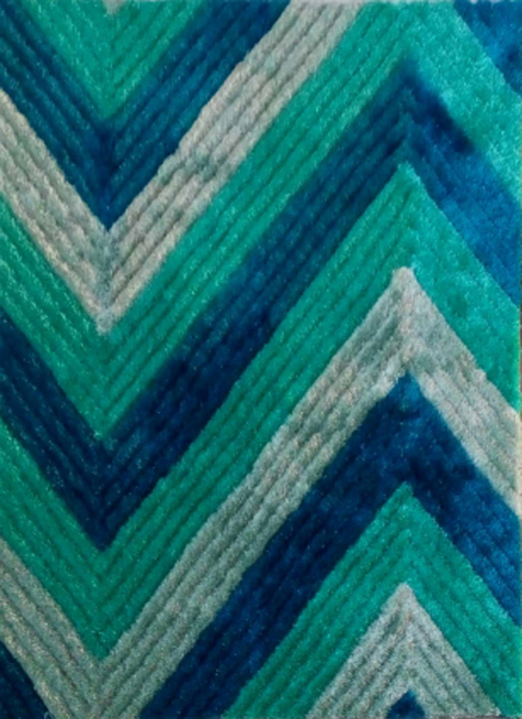 Blue/Green Area Rug - Rug Tycoon