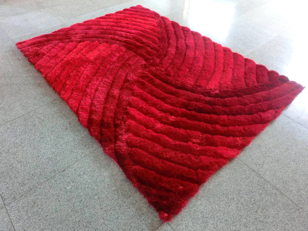 N1 Red Area Rug