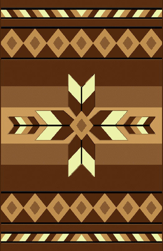 NS2 Brown Area Rug