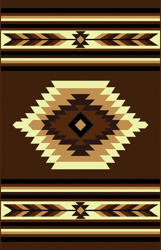 NS3 Brown Area Rug