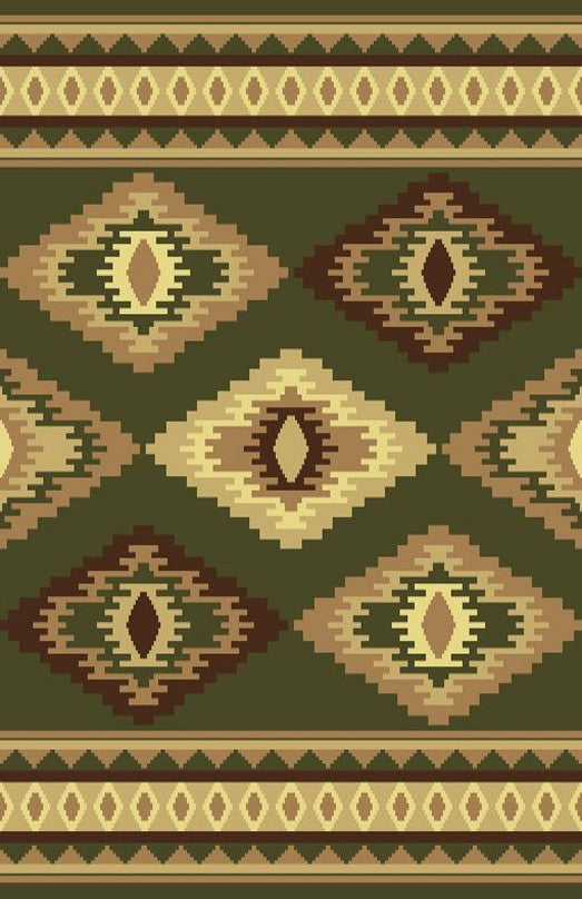 NS6 Sage Green Area Rug
