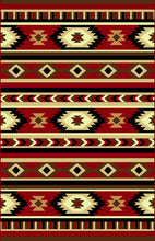 NS7 Red Area Rug