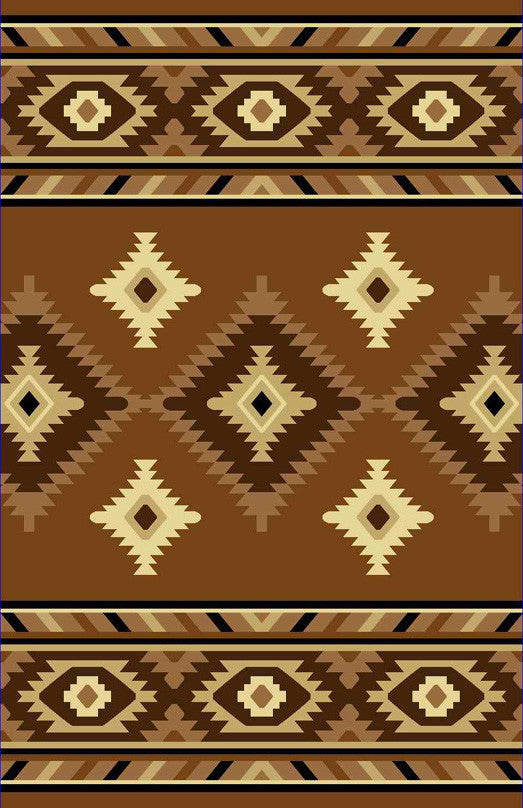 NT2 Brown Area Rug