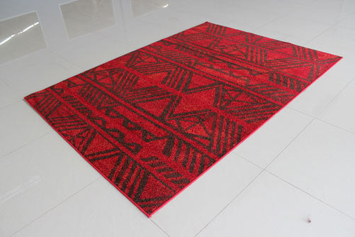 PRT1608 Red Area Rug