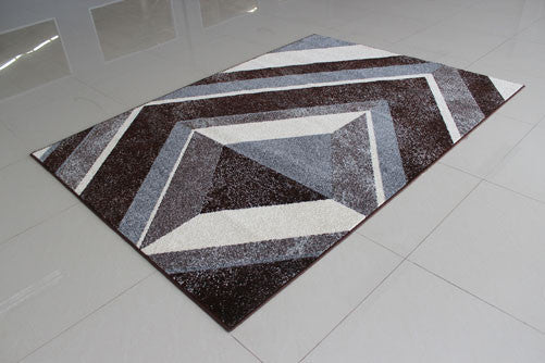 PRT1611 Brown Area Rug