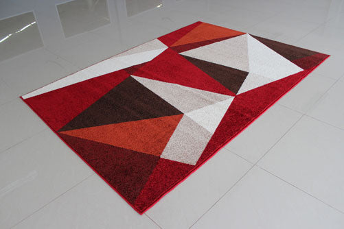 PRT1612 Red Area Rug