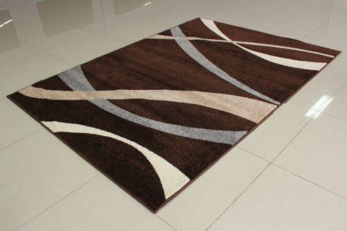 PRT1616 Brown Grey Area Rug