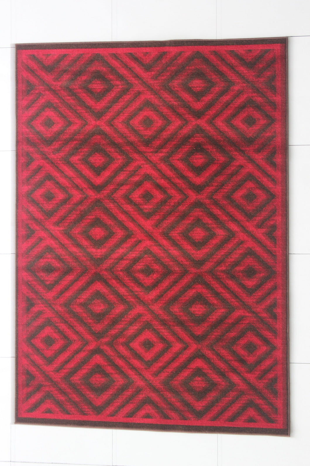 Brown/Red Area Rug - Rug Tycoon