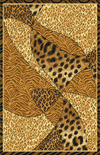 R407 Brown Area Rug