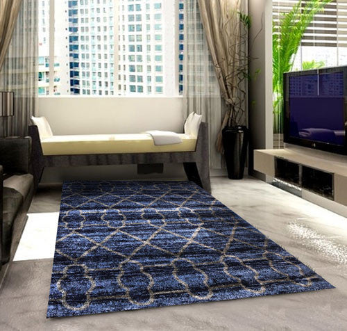 SH104 Dark Blue Area Rug
