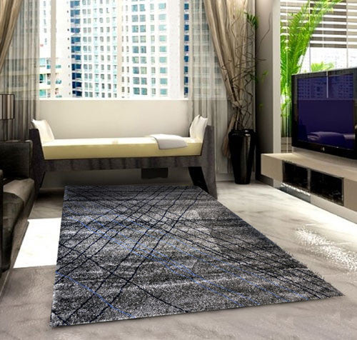 SH105 Grey Blue Area Rug