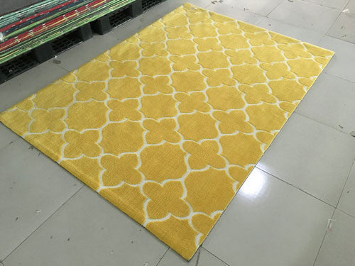 SL4001 Yellow Area Rug