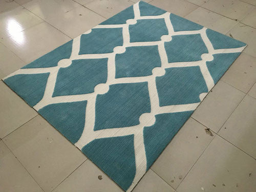 SL4002 Blue Area Rug