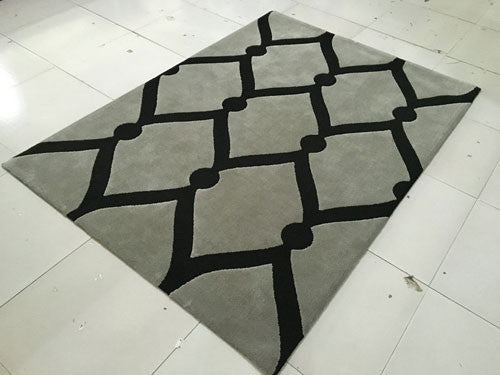 SL4002 Grey Area Rug