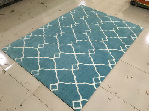 SL4005 Blue Area Rug