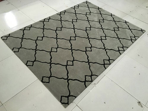 SL4005 Grey Area Rug