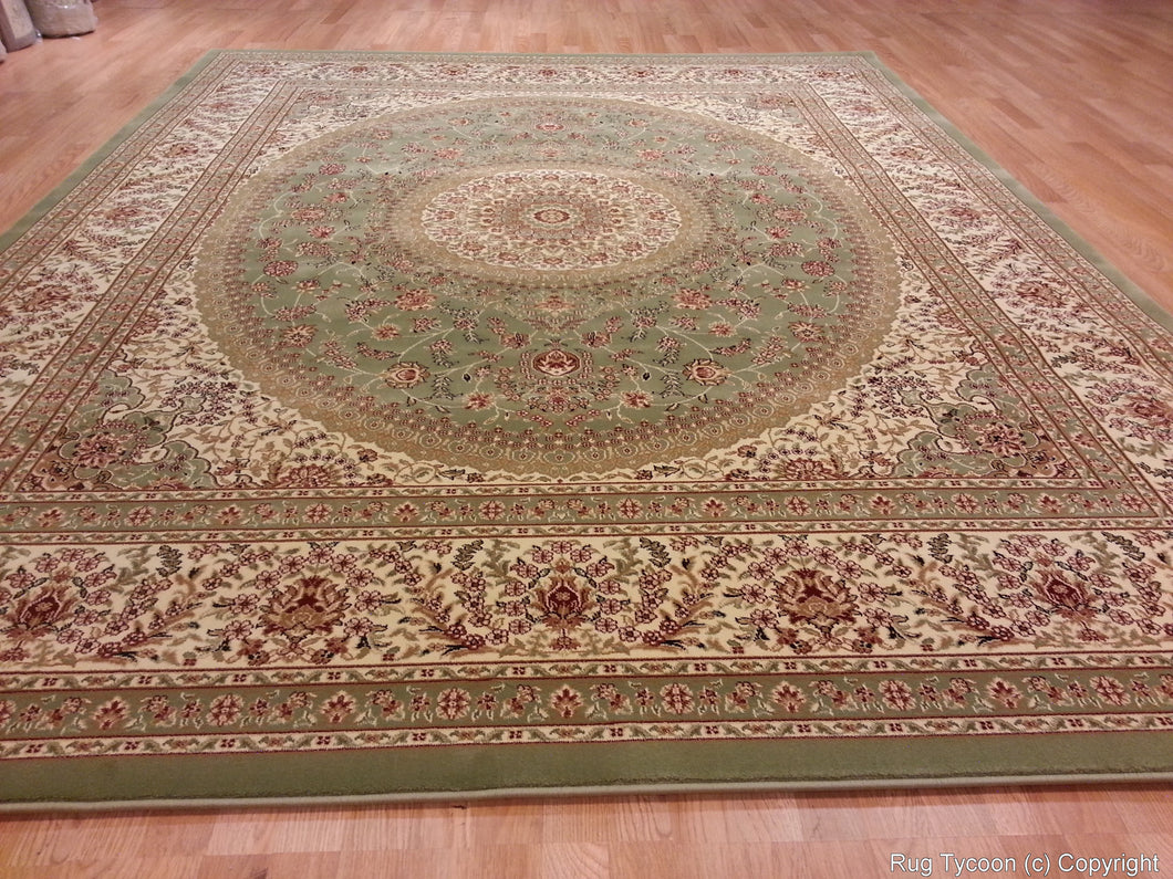T03 Olive Area Rug