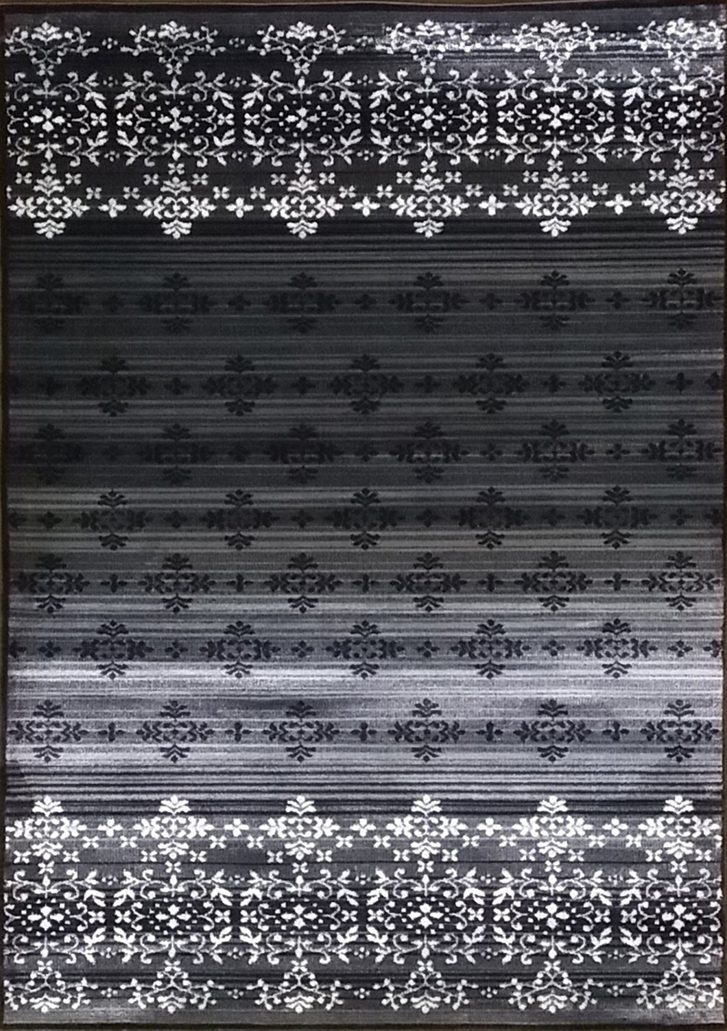 Cahlil Black Area Rug