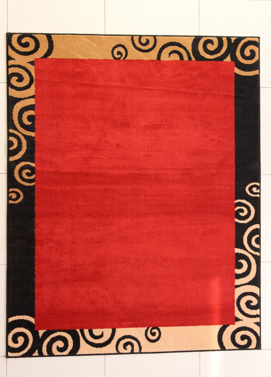 Thamm Orange Area Rug