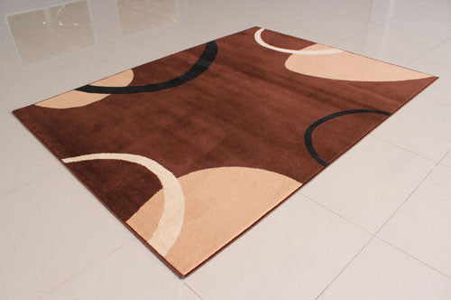 W1503 Brown Area Rug