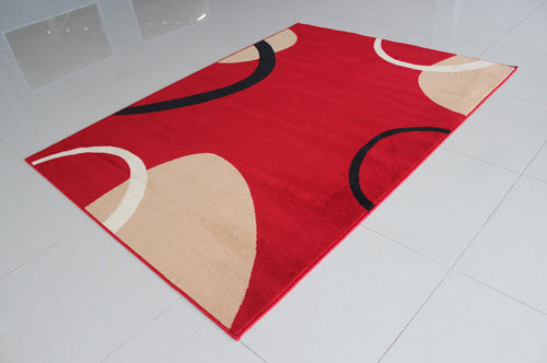 W1503 Red Area Rug