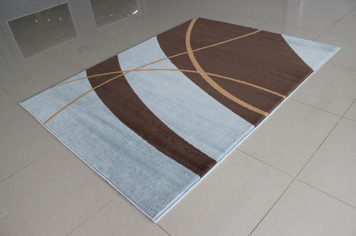 W1504Greige Blue Area Rug
