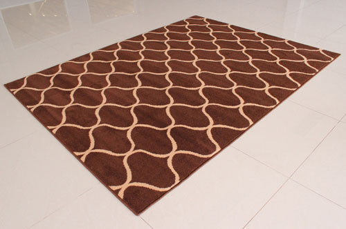 W1505 Brown Area Rug