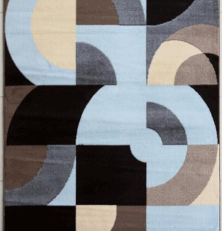 Warden Blue Area Rug