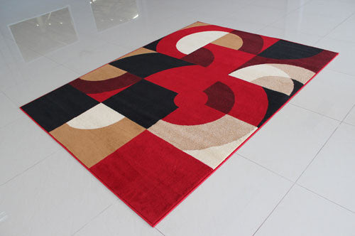 W1506 Red Area Rug