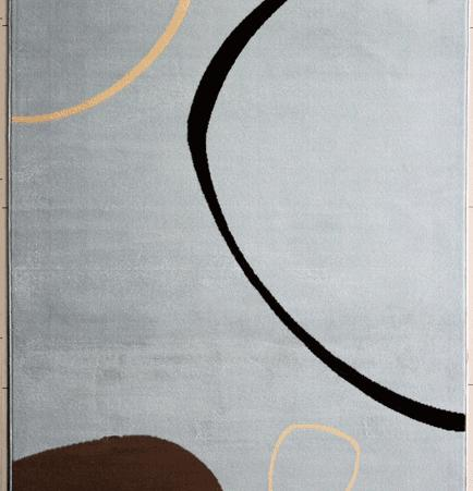 Zebadiah Blue Area Rug