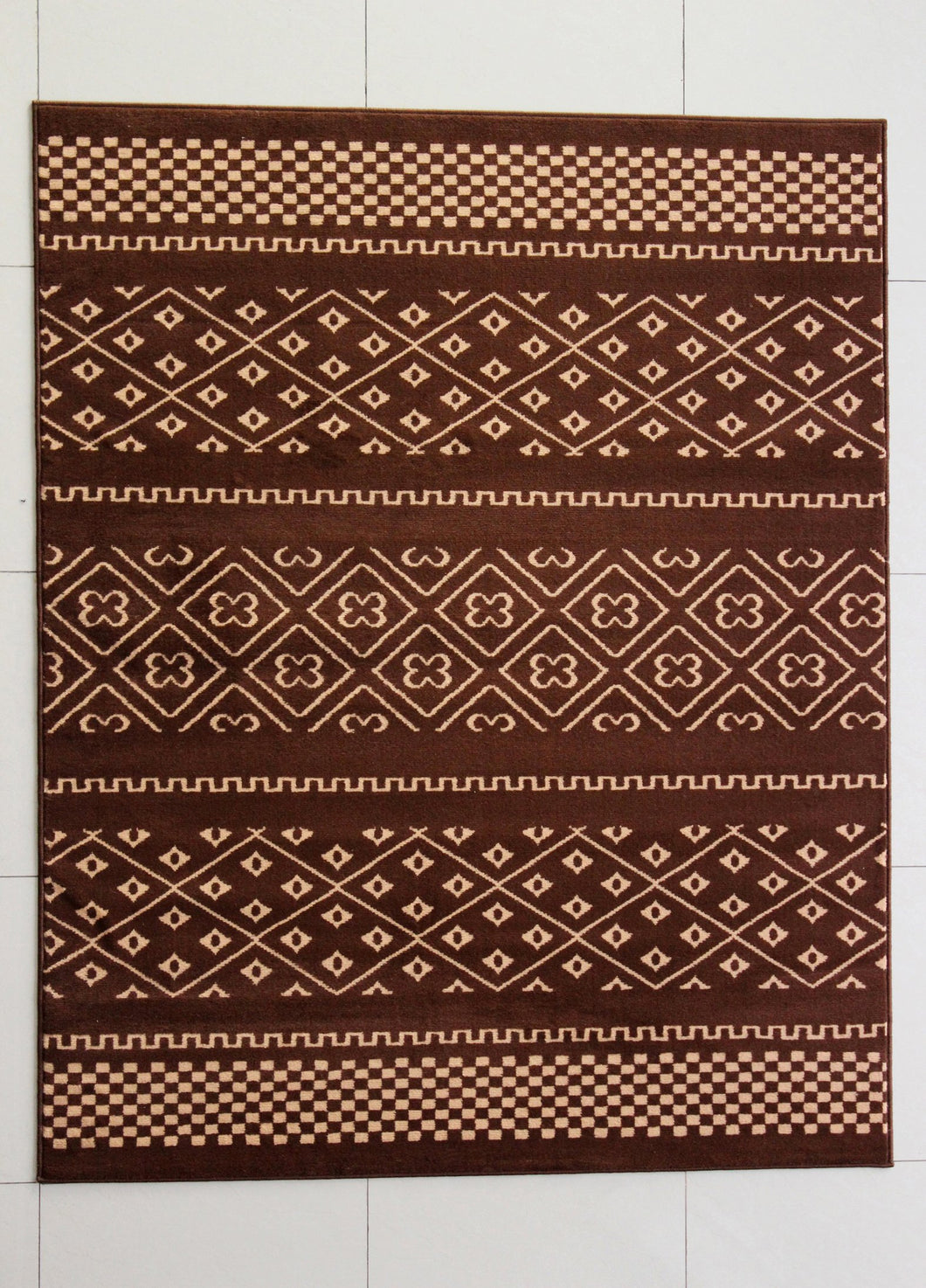 Harristown Brown Area Rug