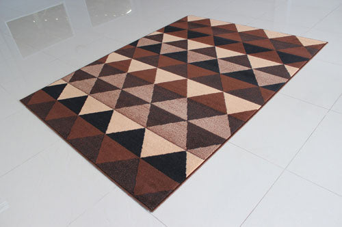 W1511 Brown Area Rug