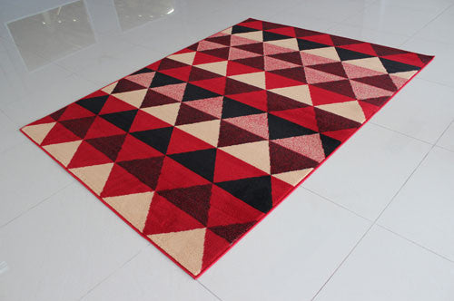 W1511 Red Area Rug